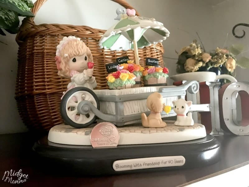 Precious Moments 40th Anniversary figurine