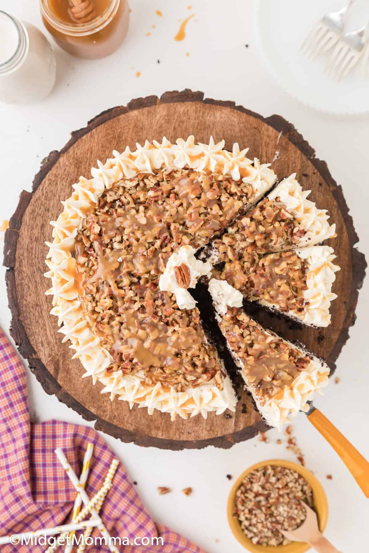 Chocolate Turtle Cake Recipe