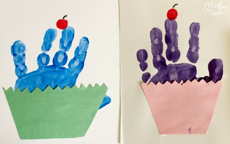 Cupcake Handprint