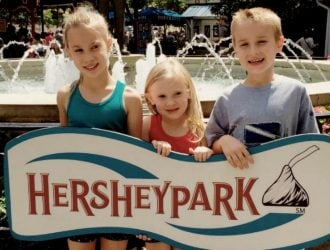 Best Family Rides at Hershey Park