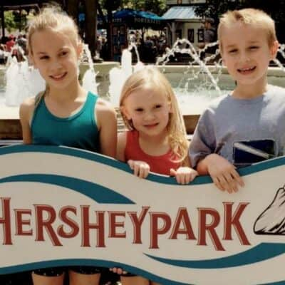 Family Rides at Hershey Park