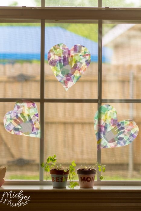 Handprint Suncatcher Kids Craft