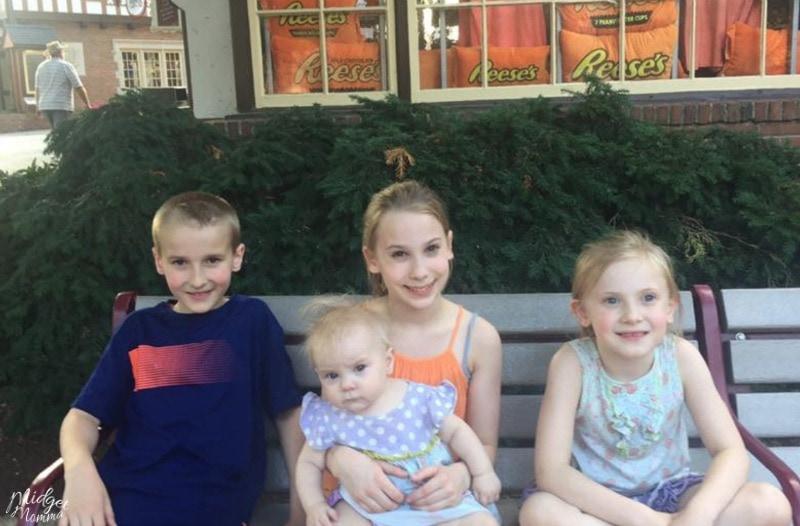 Hershey Park Kids Rides