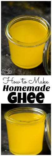 How to make Ghee. Making homemade ghee is so easy to do! Only a few minutes of time and some european butter and you will have amazing homemade Ghee!