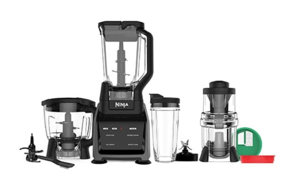Ninja Intelli-Sense System with Auto-Spiralizer