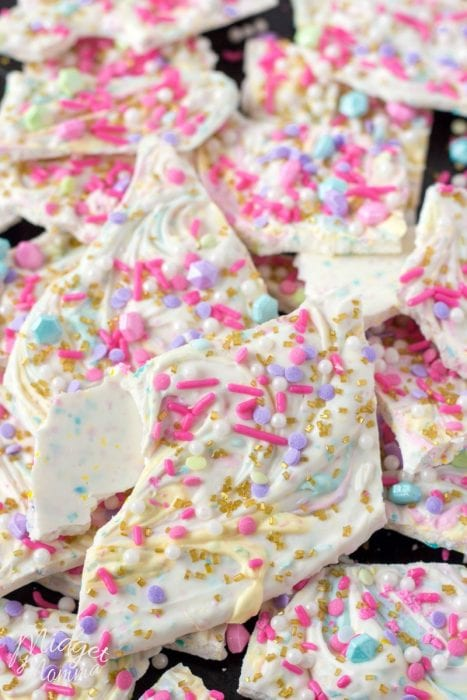 Unicorn Poop Bark Candy