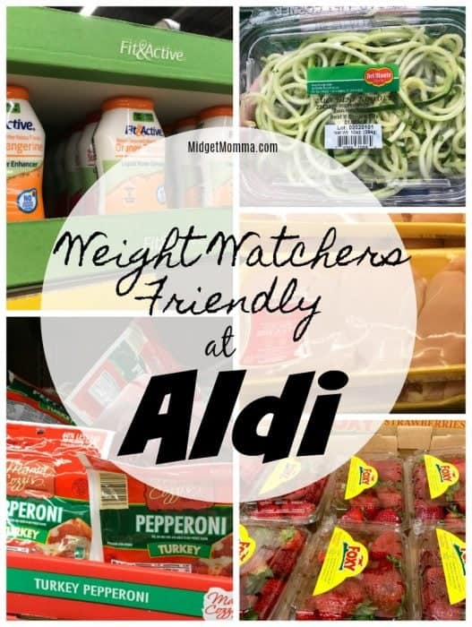 50 + Weight Watchers Friendly Items at Aldi! • MidgetMomma