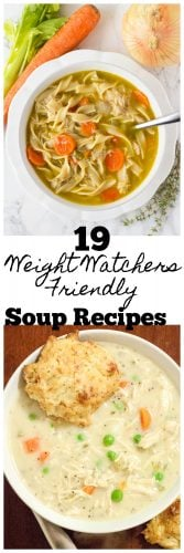 Weight Watchers Soup Recipes - MidgetMomma - 19 Amazing Weight Watchers Soup Recipes. These Weight Watchers Recipes can be made the day of or ahead of time for Weight Watchers Meal Prep.