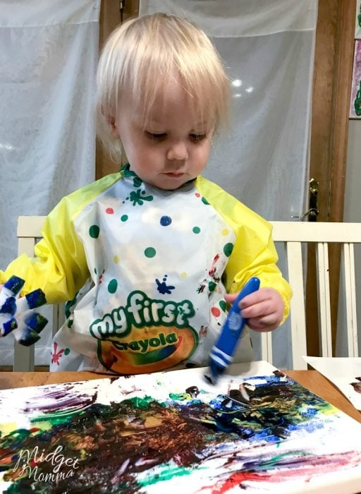crayola toddler paint brushes
