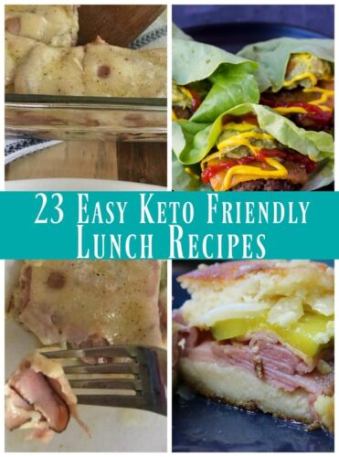 23 Easy Keto Lunch Ideas- Easy and super tasty lunch ideas that are keto friendly.