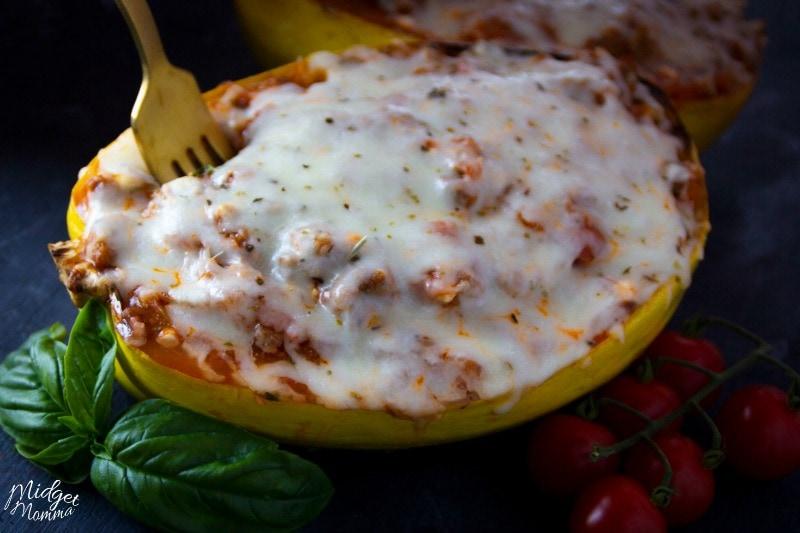 spaghetti squash lasagna keto
