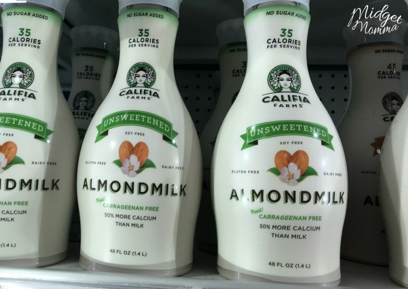 Almond milk at target