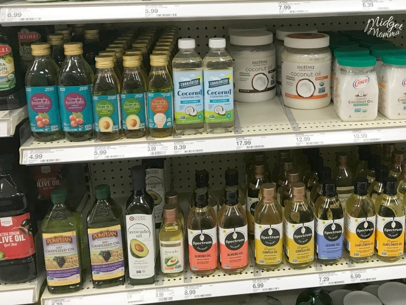 Avocado oil at Target