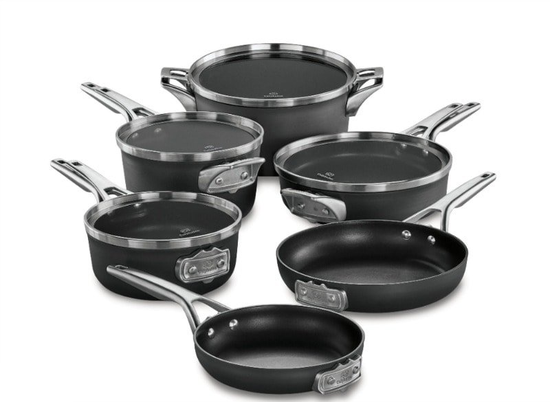 Calphalon Premier™ Space Saving Hard Anodized Nonstick Cookware