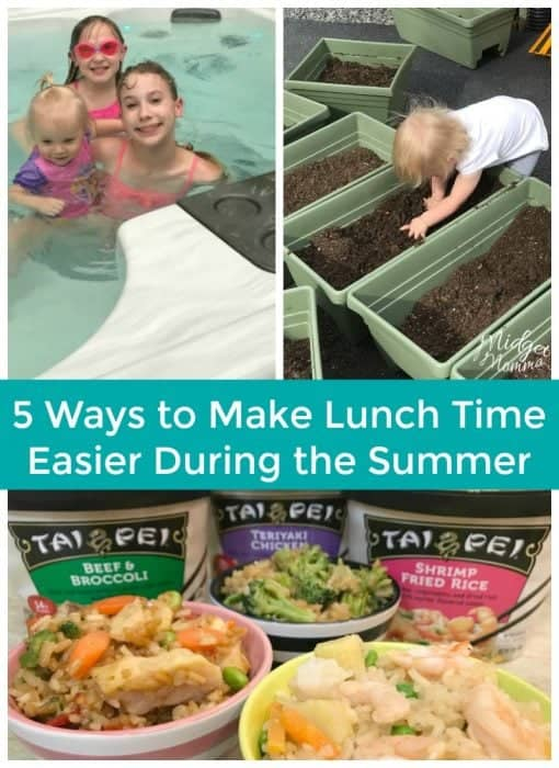 There are 5 simple things that you can do to make lunch time easier during the summer when the kids are home from school. AD #Summer #Kids #AsianFoods #SummerFun #Moms #TaiPeiFoods #TaiPeiAsianFoods #FrozenAsianFood
