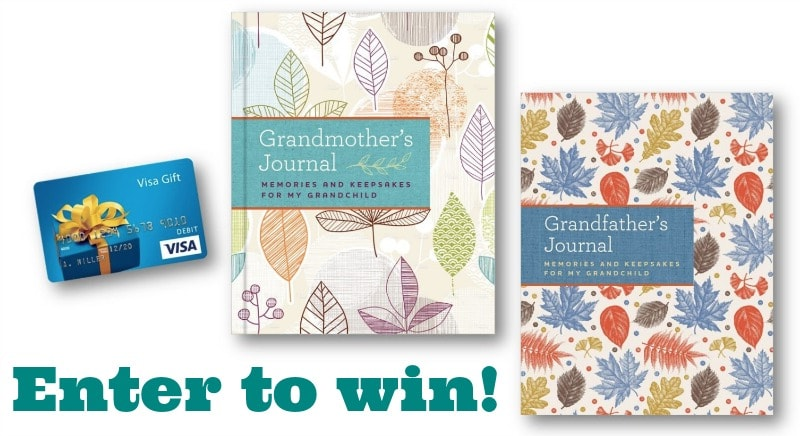 Granparents Journal Giveaway