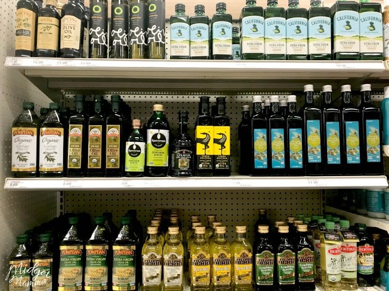 Keto Cooking Oils at Target