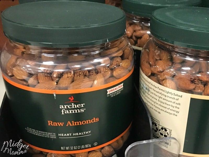 Nuts at Target