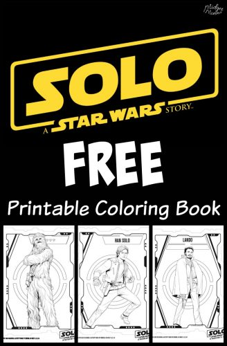 Star Wars Solo Coloring Book Printables