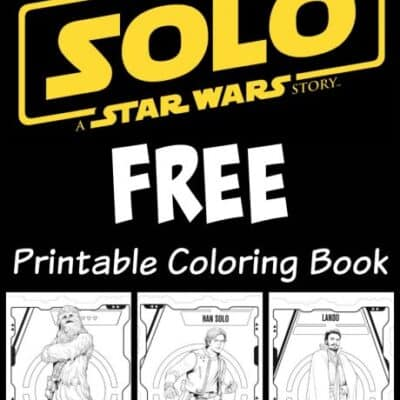Star Wars Solo Coloring Book Printables