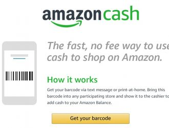 Score FREE Cash with Amazon Cash!  No Fee Way to use Cash to shop on Amazon