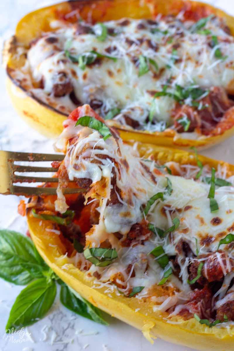 chicken parmesan spaghetti squash