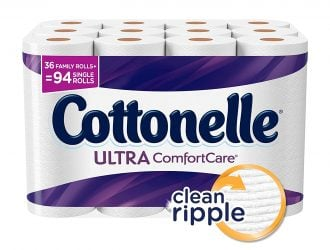 Stock Up!  Cottonelle Ultra ComfortCare Family Roll Plus Toilet Paper PLUS high value Coupon!