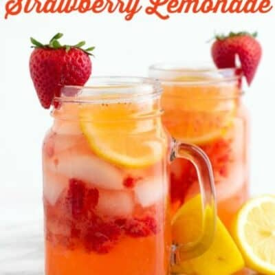 Easy Homemade Strawberry Lemonade