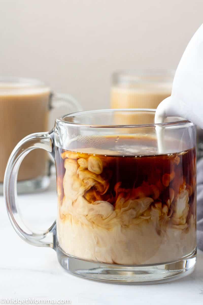 Keto Coffee with creamer