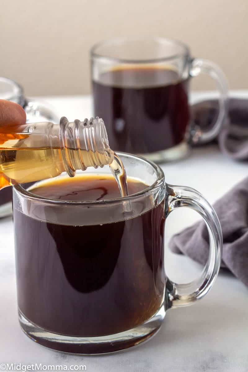 Keto Coffee with sugar free syrup