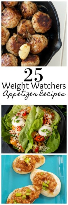 Having a party but want to stick to your Weight Watchers plan You are in luck with these 25 amazing Weight Watchers friendly Appetizers! #WeightWatchers #Appetizers #WeightWatchersRecipes #WeightWatcherMeals #WWRecipes #EasyWeightWatchers