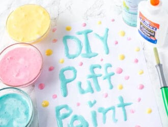 DIY Puffy Paint