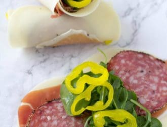 If you are looking for an amazing low carb lunch then you are going to love these Italian Sub Rollups! This low carb lunch is simple to make and super tasty. #Keto #LowCarb #KetoDiet #KetoLunch