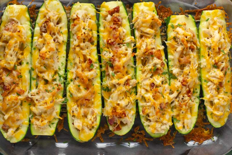 Low Carb Zucchini Boat