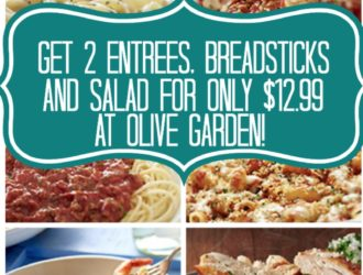 Olive Garden Buy one take one deal
