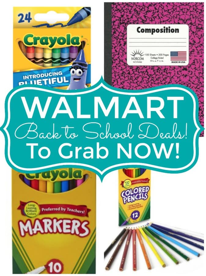 Walmart Back to School Deals