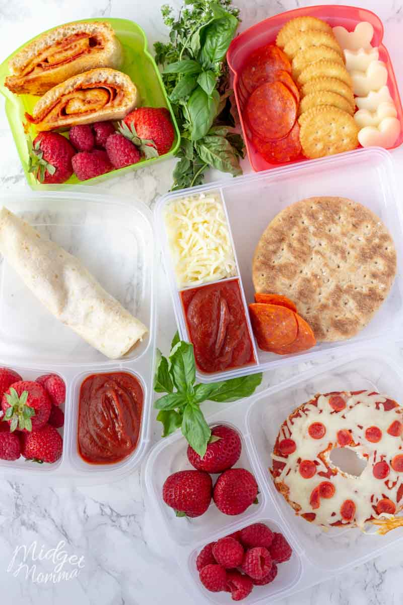 easy Pizza Lunchbox Ideas