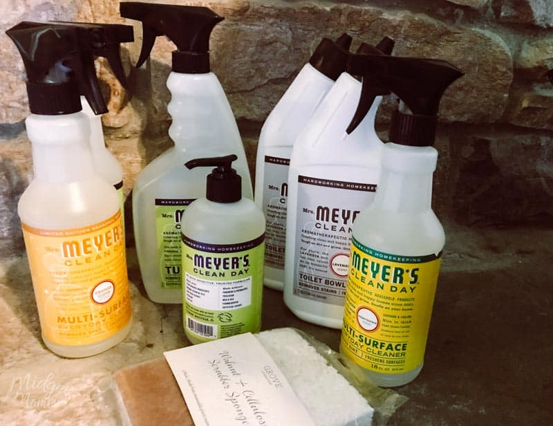 free mrs meyers gift set from grove