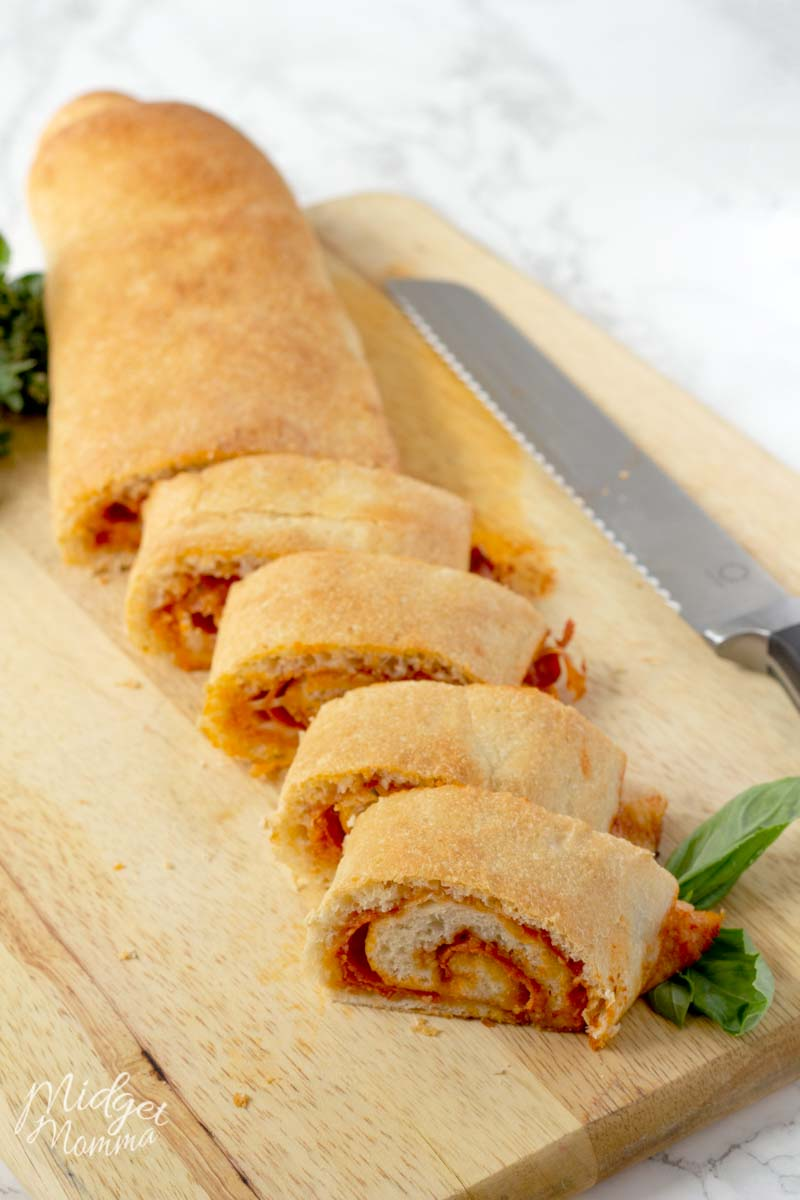 stuffed pizza roll