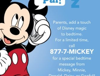 FREE Bedtime Messages from Your Favorite Disney Characters!
