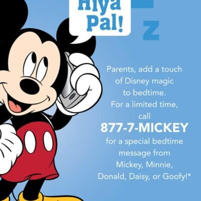 Free Disney phone call