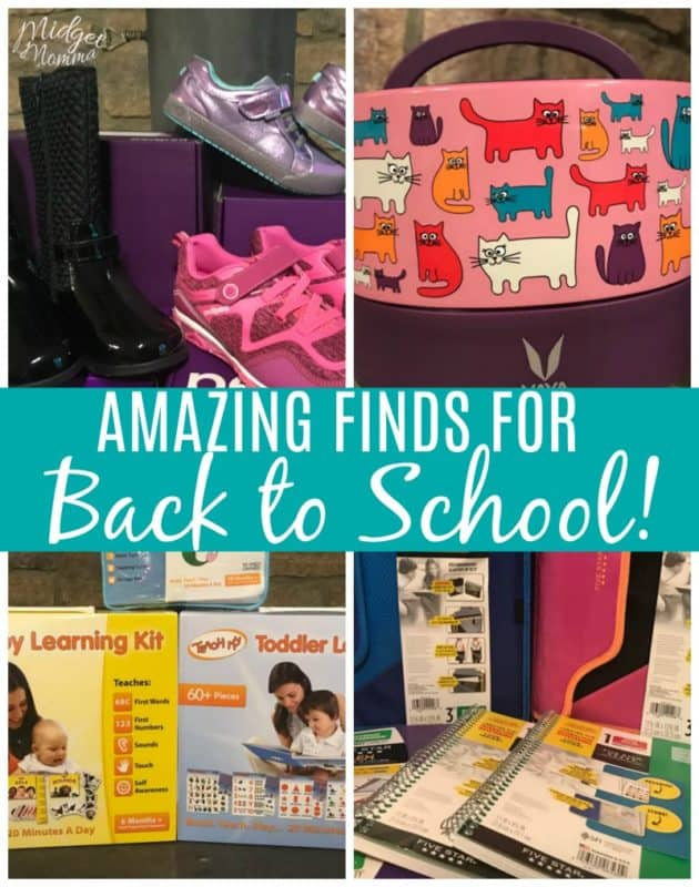 Looking for amazing things to make back to school perfect? You are in luck with this amazing list of back to school products that will not only make your life easier but more fun too! #backtoschool #schoolsupplies #school