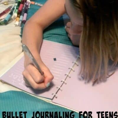 Bullet Journaling for Teens