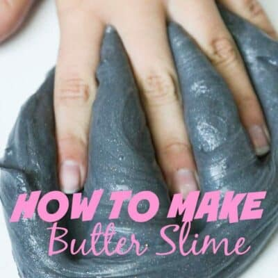 Looking for an easy slime recipe? Butter Slime is easy to make and so much fun to play with! Make butter slime in any color you want to! #Slime #SlimeRecipe #HowtoMakeSlime #ButterSlime