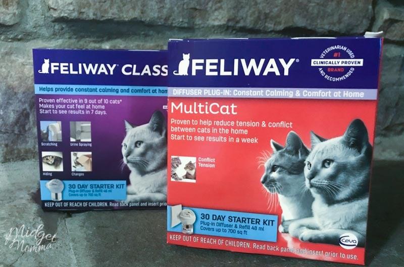 Feliway MultiCat Diffuser in boxes