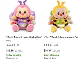 Score the VTech Touch & Learn Musical Bee on Rollback!