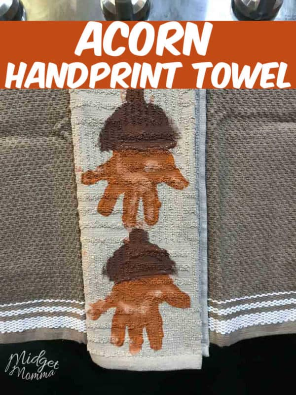 Diy Leaf Handprint Hand Towels Midgetmomma