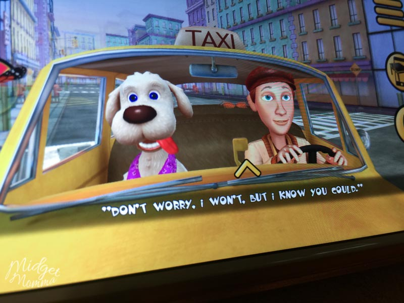 Maxi the Taxi Dog Interactive Reading App for kids
