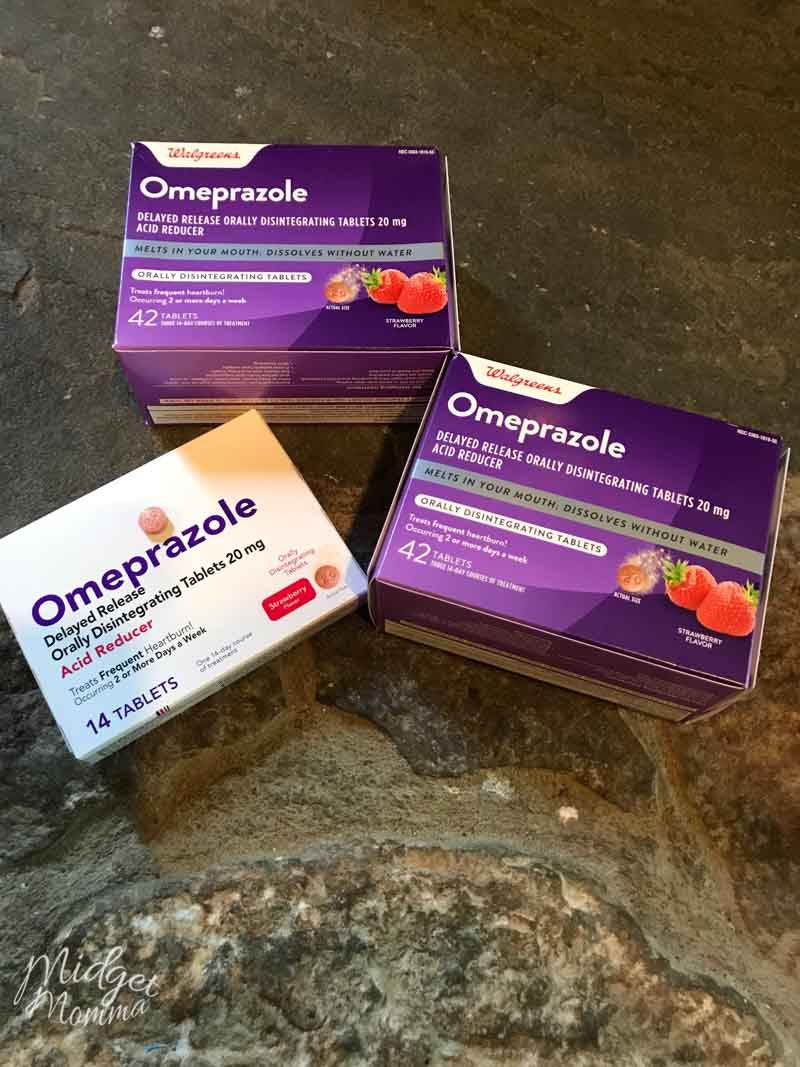 2 Omeprazole Orally Disintegrating Tablet boxes