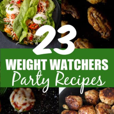 Weight Watchers Party Recipes